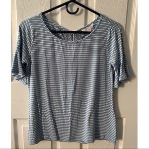 Lauren Conrad Striped Shirt (XS)